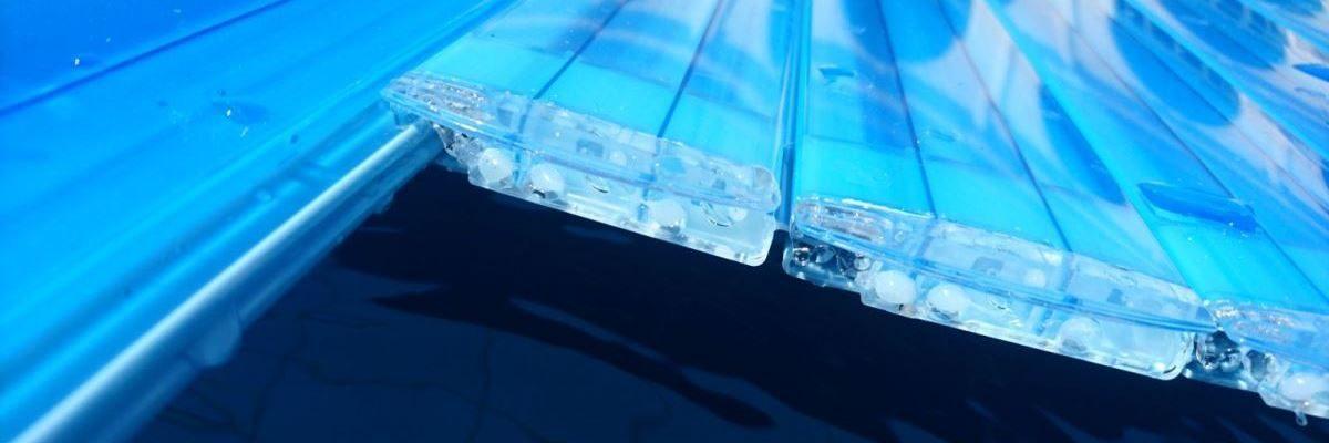 Pool cover material